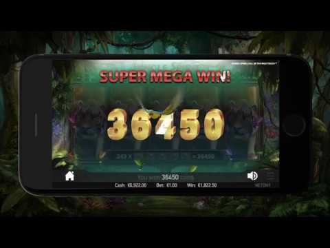 08 - The Most Popular Slots - Jungle Spirit - NetEnt