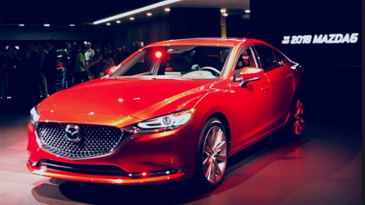 2019 Mazda MAZDA6 With More Features And Tech