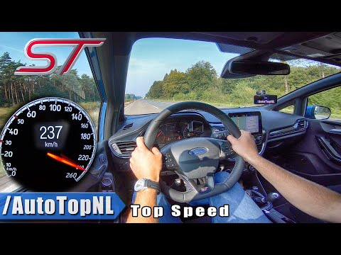 2020 FORD FIESTA ST | TOP SPEED on AUTOBAHN (No Speed Limit) by AutoTopNL