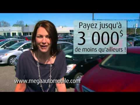 Mega francais publicite voitures d'occasion gatineau