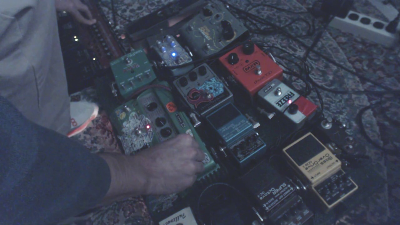 bedrone 22 live ambient guitar pedal music youtube. Black Bedroom Furniture Sets. Home Design Ideas