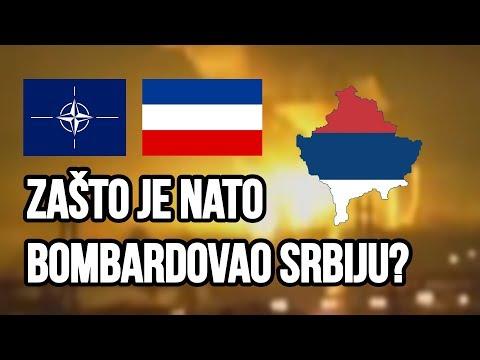 ZAŠTO JE NATO BOMBARDOVAO SRBIJU? SR JUGOSLAVIJA 1999