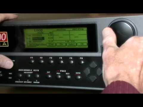 Sampling modular synth oscillators with E-MU E5000