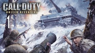 Call of Duty: United Offensive - Walkthrough Part 1 Gameplay