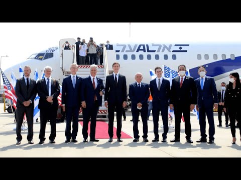 Israeli Plane Makes History With First Flight To UAE