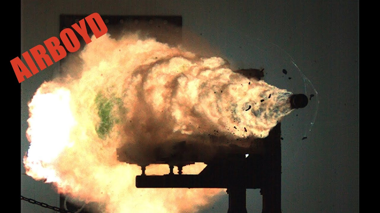 Navy Railgun Hypervelocity Projectile Hvp Youtube