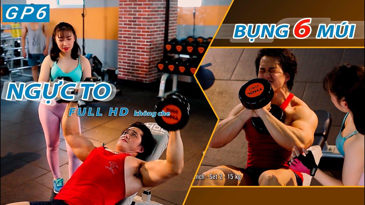Gym Phổ Ngực Và Bụng – Buổi Tập Gym Vui Nhộn Nhất Của Duy Nguyễn Tại Q12