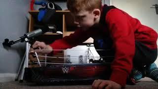 WWE fatel four way match