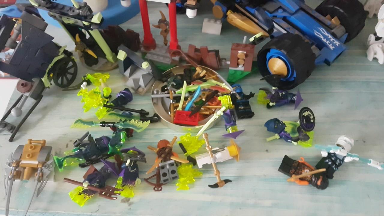 Mes lego ninjago saison 5 et saison des nindroides youtube - Lego ninjago nouvelle saison ...