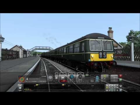 Train Simulator 2015. Wearhead-Bishop Auckland. (5x speed) |