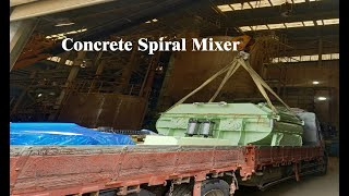 Spiral mixer ㅣ Concrete I Kore…