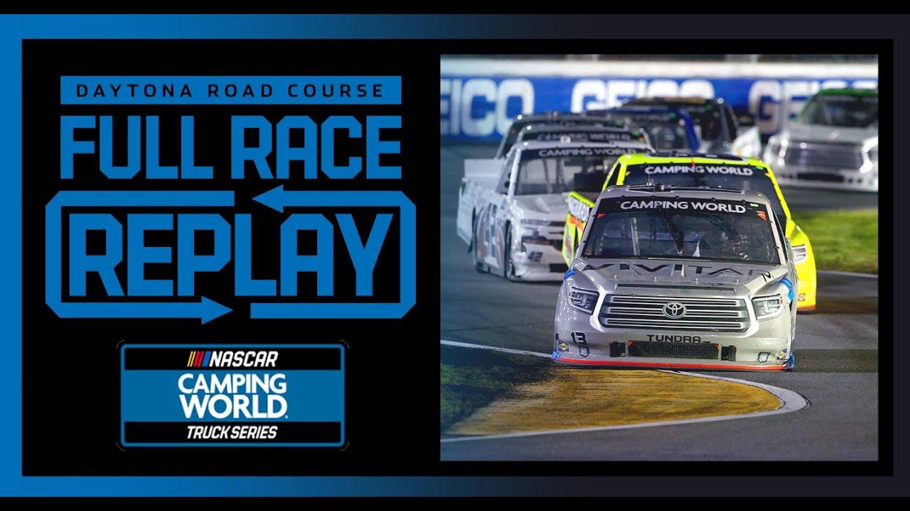 BrakeBest Brake Pads 159 At Daytona's Road Course | NASCAR Truck Series Full Race Replay