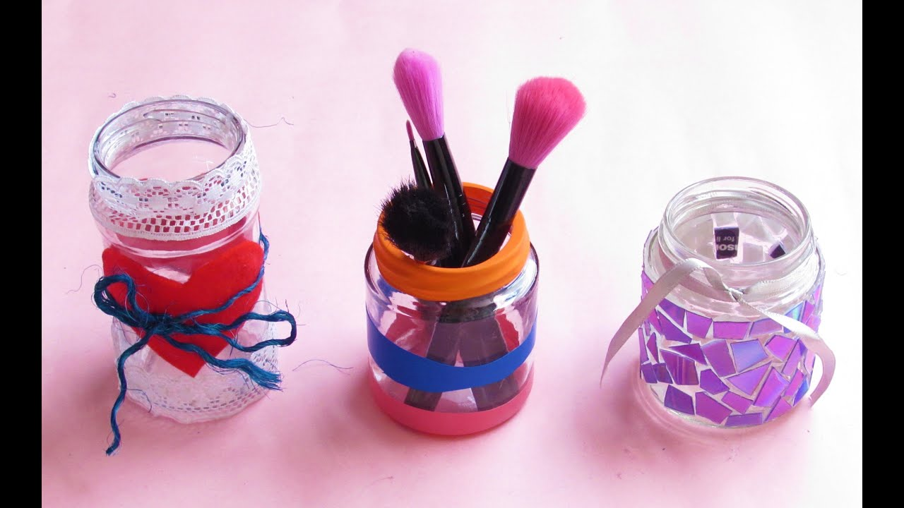 3 ideas f ciles para decorar frascos de vidrio parte 2 for Ideas con frascos de vidrio