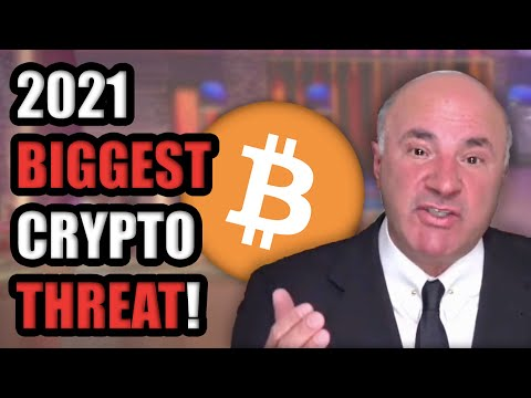 Kevin O'Leary Reveals BIGGEST THREAT to Cryptocurrency in 2021 | WARNING TO ALL BITCOIN HODLERS
