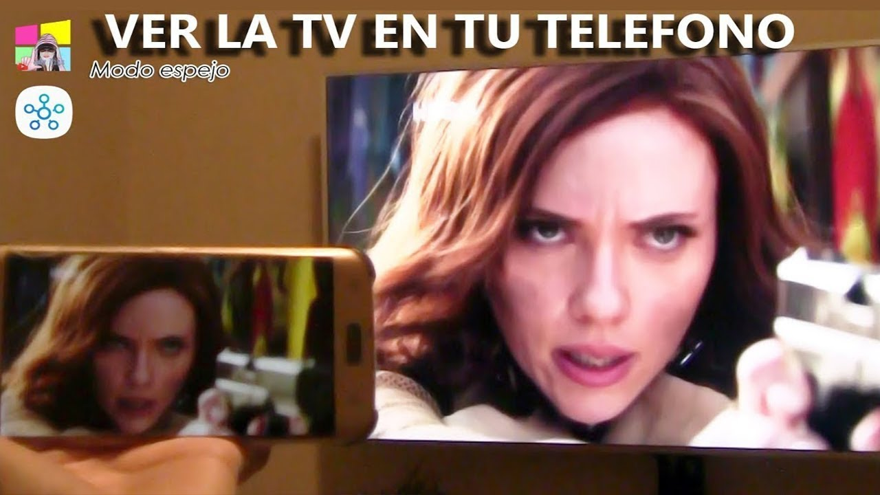 Modo espejo ver la tv en el telefono youtube for Ver telefono