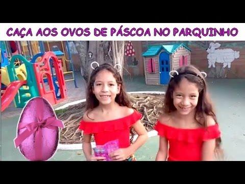 CAÇA AOS OVOS DE PÁSCOA NO PARQUINHO