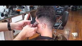 Aquela transformação de respeito cabelo masculino