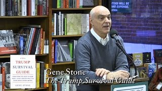 "Gene Stone, ""The Trump Survival Guide"""