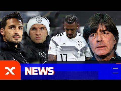 Joachim Löw erklärt Ausbootung von Mats Hummels, Thomas Müller und Jerome Boateng | DFB-Team | SPOX