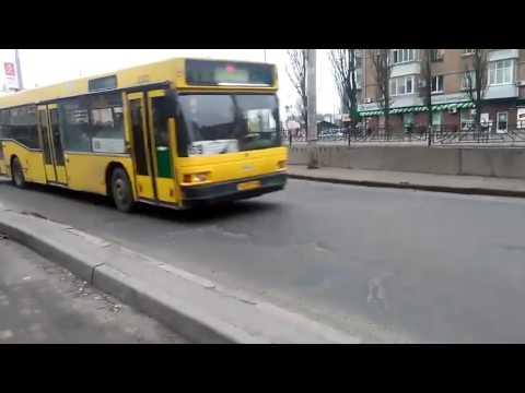 Автобус 69 Киев. 02.03.2017 МАЗ 103.076