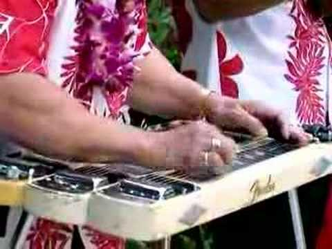 """Fender Hawaiian Steel guitar - """"Sand"""" played by Isaac Akuna"""