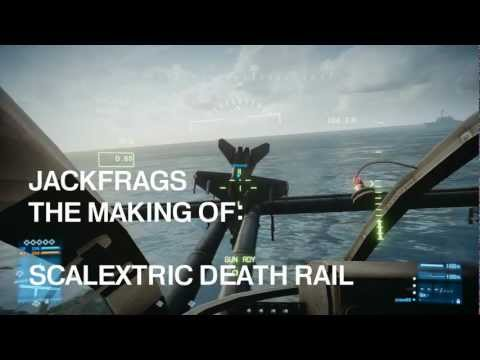 Battlefield 3 – The Making of Scalextric Death Rail – Jackfrags 1080p – Gameplay Commentary