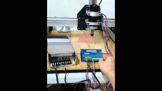 Brushless spindle, first test!