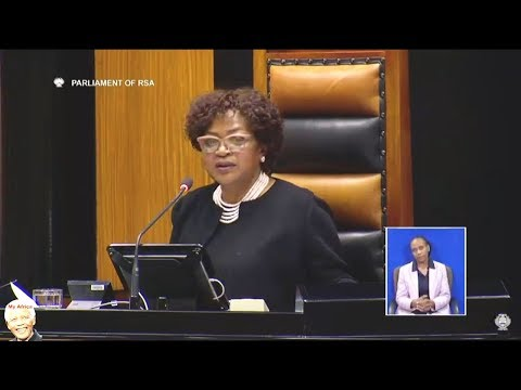 Why Baleka Mbete Dont Want To Vote In No Confidence Debate
