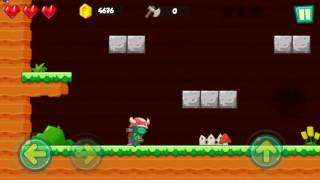 Jungle Adventures: Super World - Flipy Bush Level 16 (Boss Fight) Gameplay (Free Game On Android)