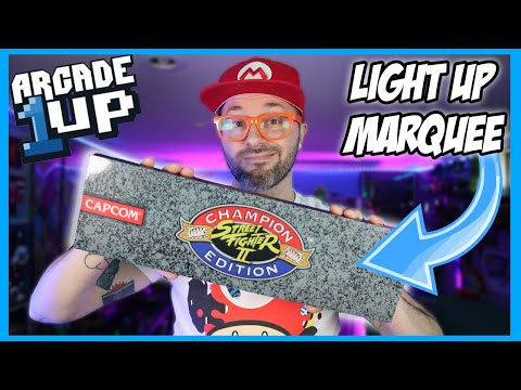 Arcade1up Street Fighter Light Up Marquee from Russ Lyman