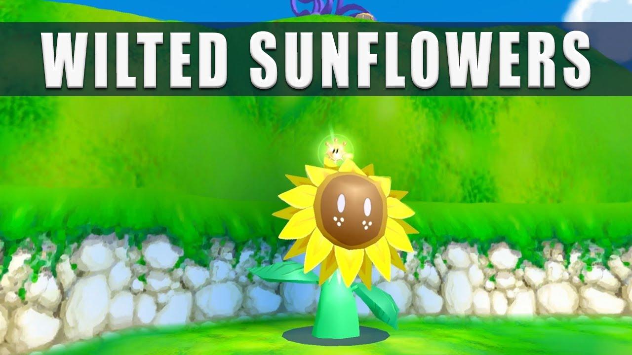 Super Mario Sunshine Switch The Wilted Sunflowers Pinna Park Episode 4 - Super Mario 3D All Stars