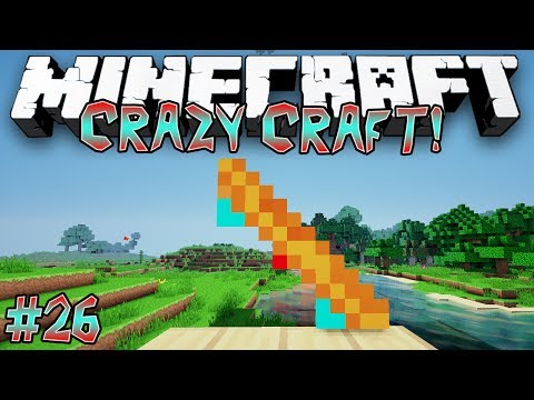 """Crafting Hoverboards!"" - CRAZY CRAFT (MINECRAFT MODDED SURVIVAL) - #26"