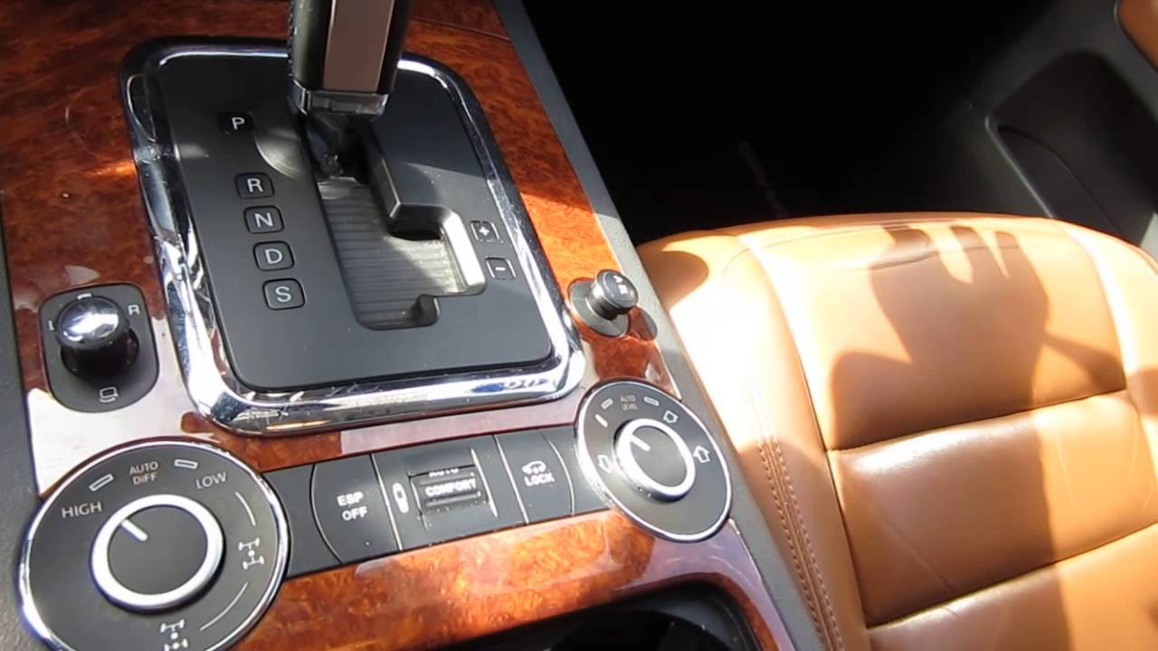 2006 Volkswagen Touareg V8 White Stock L011086 Interior Details Youtube