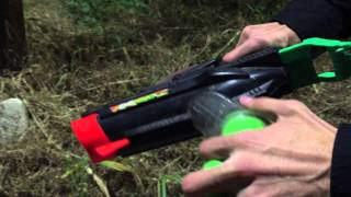 Vintage Review: The Nerf Ripsaw Ball Blaster (The FIRST Flywheel blaster)