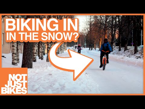 Why Canadians Can't Bike in the Winter (but Finnish people can)