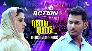 Action Telugu | Maula Maula Video Song | Vishal, Tamannaah | Hiphop Tamizha | Sundar.C | HD