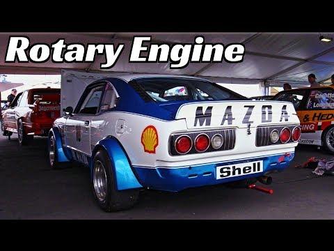 Racing Mazda RX-3 2-Rotor 13B N/A engine Loud & Shrill Sound