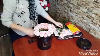 Доставка цветов Алматы(Короткое видео о том как мы собираем коробки с розами и готовим их к доставке цветов Алматы., 2016-12-21T02:56:29.000Z)
