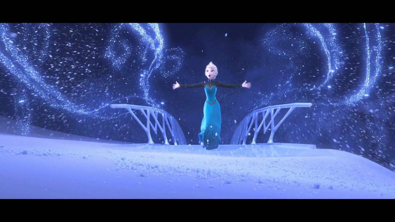 [1080p PT-BR] Frozen - Livre Estou (Musica)