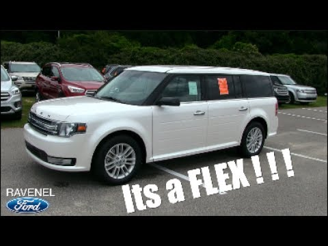 The New 2017 Ford Flex Sel Walkaround Review Specs Pricing Features Ravenel