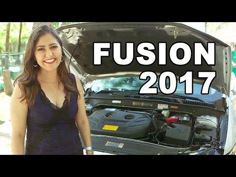 Novo Ford Fusion 2017 em Detalhes