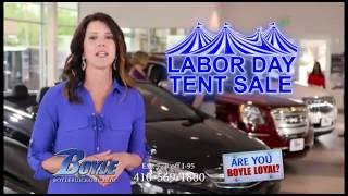 Boyle Buick GMC LABOR DAY TENT SALE