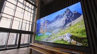 Обзор 4К-телевизора LG E6– тоньше iPhone!