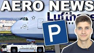 Halbe LUFTHANSA-FLOTTE Weihnachten am BODEN! AeroNews