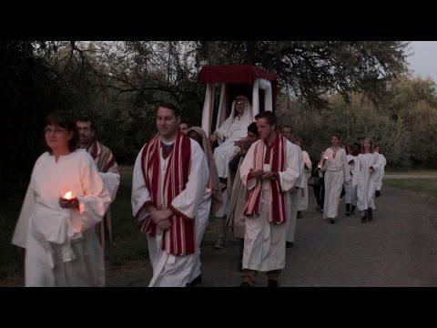 Ancient Jewish Wedding Procession