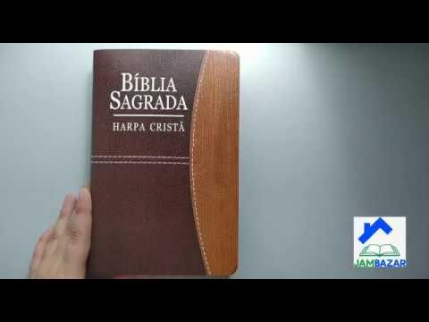 bíblia-sagrada-com-harpa-cristã-letra-grande