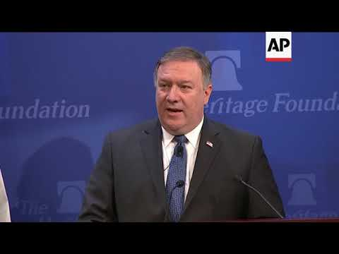 Pompeo Issues Demands For Treaty with Iran