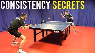 5 Key Secrets To Improve Your Consistency | Table Tennis