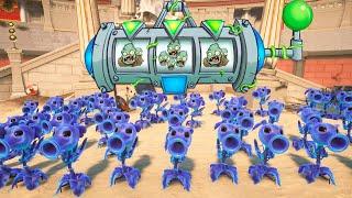 999 GUISANTE PLASMA VS 6 ZOMBISTEIN | Plants Vs Zombies: Garden Warfare 2