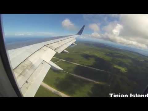 Landing in Saipan